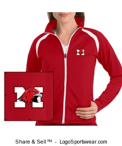 Ladies Track Jacket Design Zoom